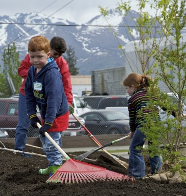 Fairview Park, Municipality of Anchorage Park and Recreation project